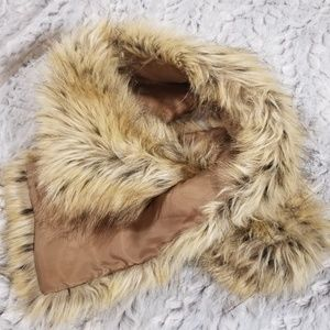 Chico's Faux Fur Scarf